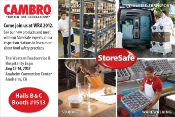 Cambro at Western Foodservice and Hospitality Expo