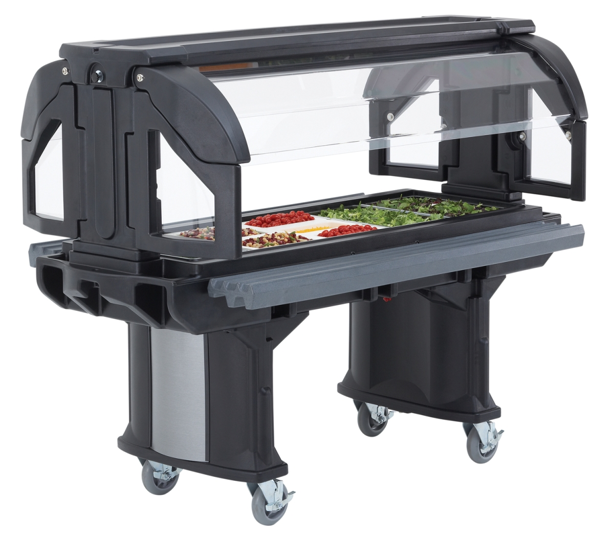 Cambro Versa Food Bar - salad bar for schools