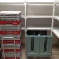 Cambro Camshelving Camracks and Dish Caddy at Unaway Hotel - San Lazzaro Italy