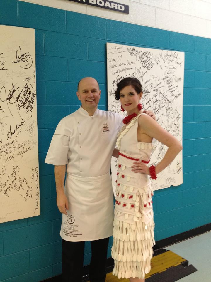French Pastry School: Cambro Dress