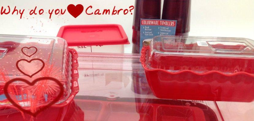 Do You ♥ Cambro?