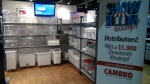Cambro storage and shelving