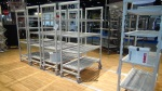 Cambro High Density Track Shelving