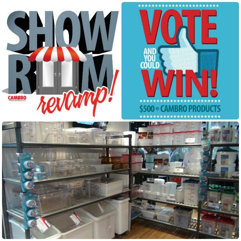 Cambro Showroom Revamp Contest