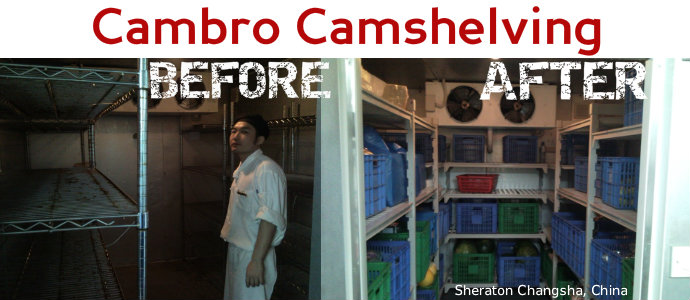 Cambro Camshelving at Sheraton Changsha - China
