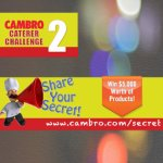 Cambro Caterer Challenge