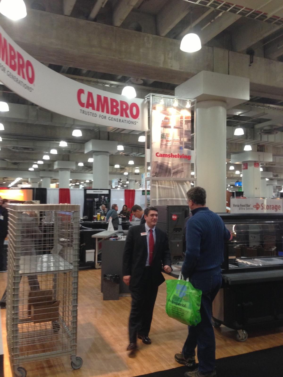 Cambro at NY Restaurant Show