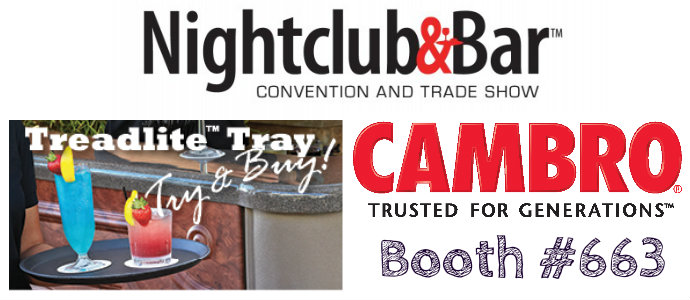 Cambro at Nightclub and Bar Show - Las Vegas