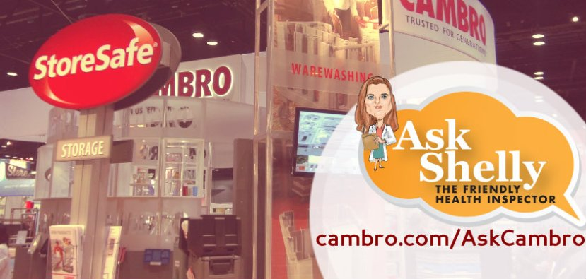 Ask Cambro at NRA