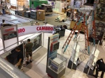 Cambro booth set-up - NRA 2013