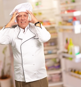 Upset Chef