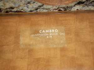 Cambro Trays - 40+ years
