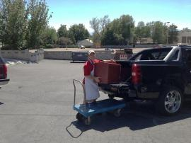 Meier's Catering Crew with Cambro 300MPC