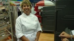 School Show - Cambro Booth - Chef Ann Cooper