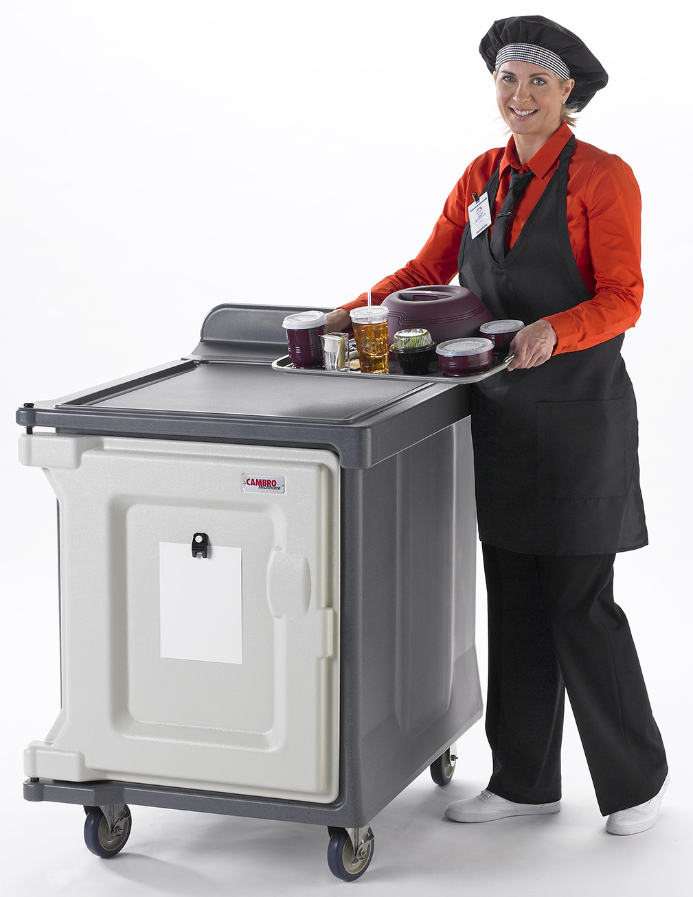 Cambro Meal Delivery 10 Tray Room Service Cart – the ...