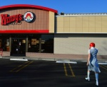 Wendy going to Wendys