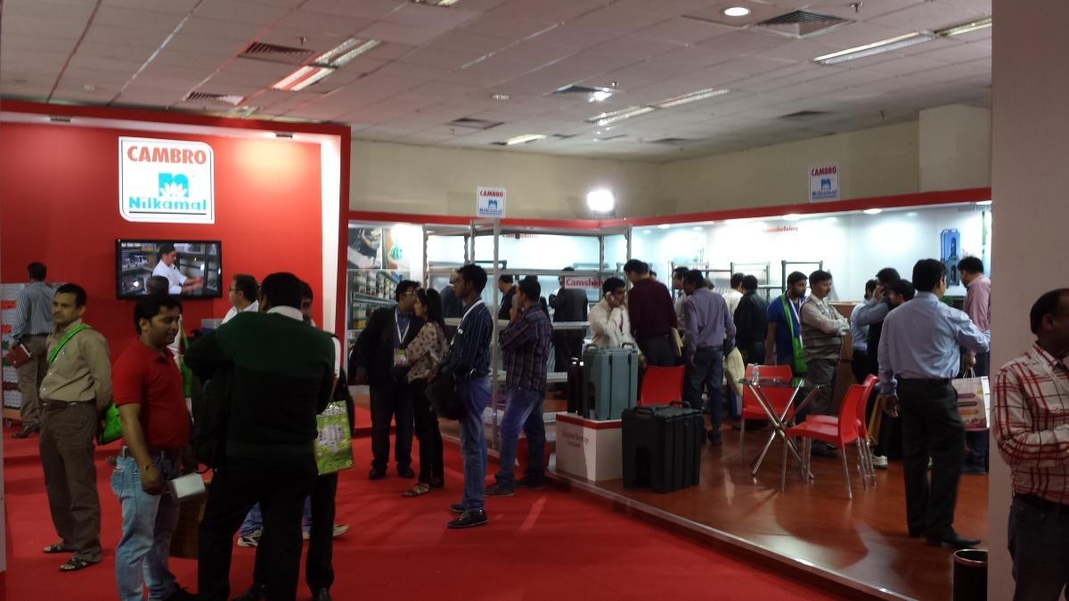 Cambro booth - AAHAR India