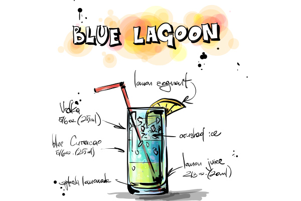 Blue Lagoon - Cambro Blog - Recipe