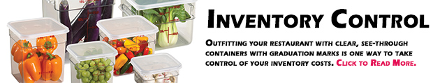 Cambro Blog - Kitchen Conversations Summary - Inventory Control
