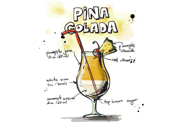 Pina Colada - Cambro Blog - Recipe