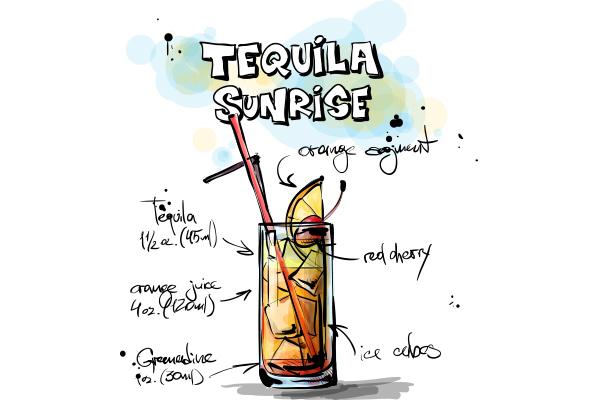 Tequila Sunrise - Cambro Blog - Recipe