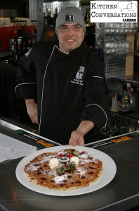 Chef Anthony Vidal hash house a go go - kitchen Conversations