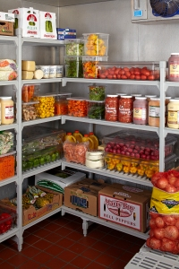 Camshelving Corner Unit Fully Stock in Freezer