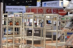 Cambro NRA booth Shelving