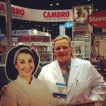 Food Safety Queen Cambro booth