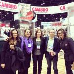 French Pastry School at Cambro Booth