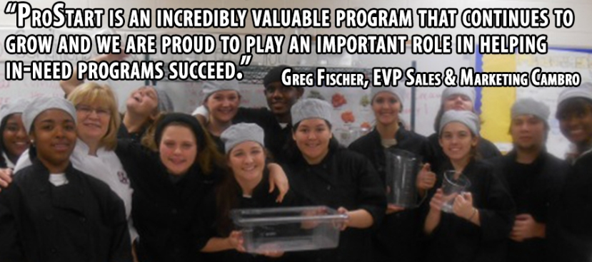 ProStart NRA GF quoteCambro blog