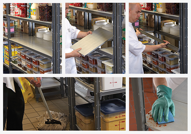 Cleaning Cambro Camshelving - Cambro Blog