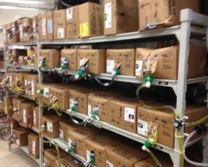 Cambro Bag in Box C-Store Shelving - Cambro Blog