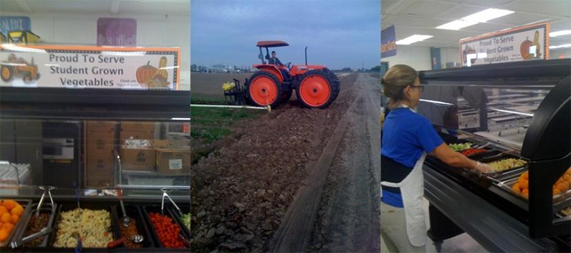 Farm to School Salad Bar - student farm - Cambro Blog