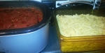 Homemade Sauce  with pasta - Monday Night Mission - Cambro blog