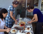 Monday Night Mission volunteers prepping - Cambro Blog