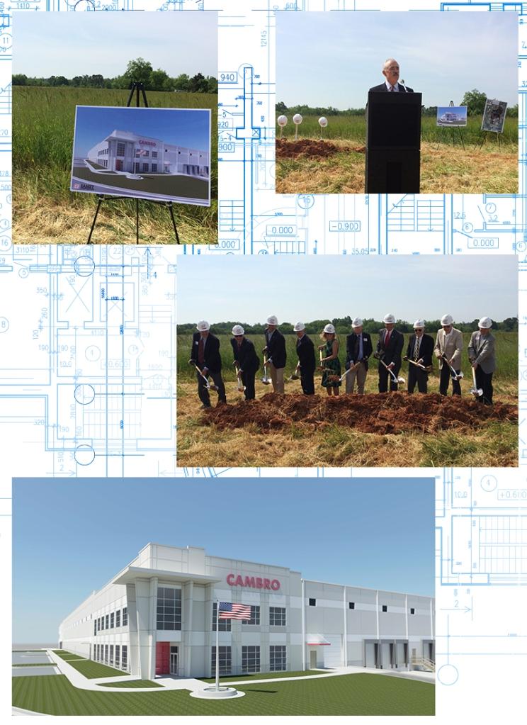 Cambro NC Groundbreaking Images