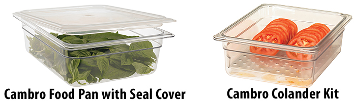 Cambro Colander Kit and Seal Lid - Cambro Blog