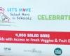 Celebrating 4000 salad bars