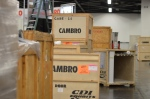 Cambro booth set up NAFEM Show - CAMBRO blog