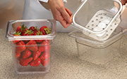 Colander Pans 63CLRCW Application
