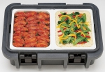 UPC Ultra Pan Carrier with 2 Half Pans