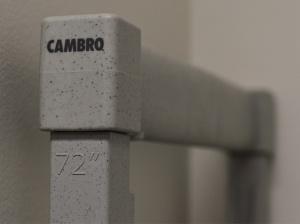 Cambro Shelving Branding1