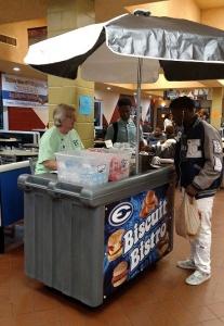 Biscuit Bistro - Vending Cart - Cambro Blog
