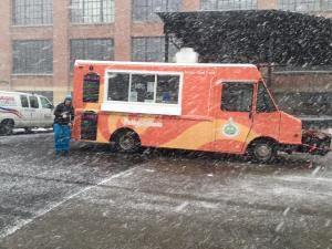 Patty Matters truck - snow2