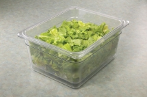 Colander w lettuce