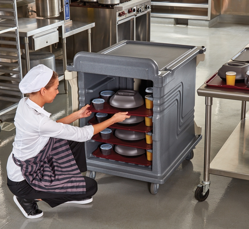 2 Door Meal Cart Kitchen 8