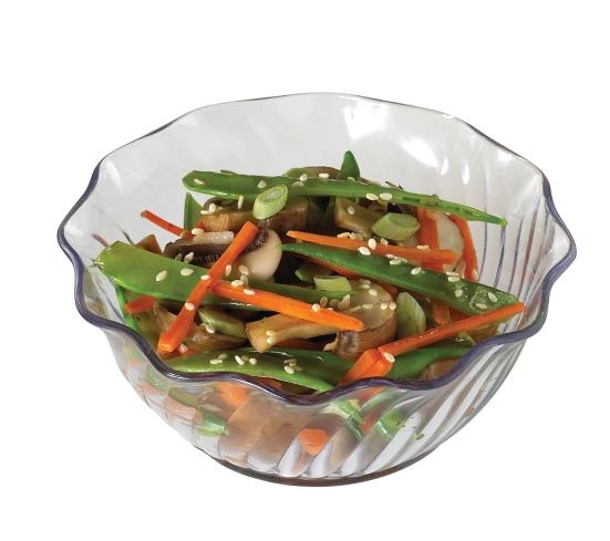 SRB13CW Swirl bowl w chinese salad