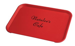 FastFood Tray Personalized Natalees Cafe