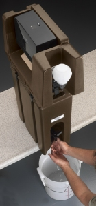 HWATD Handwash w 500LCD Camtainer